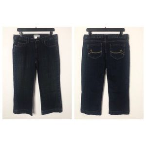 Tex by Max Azria Size 8 Cropped Jeans